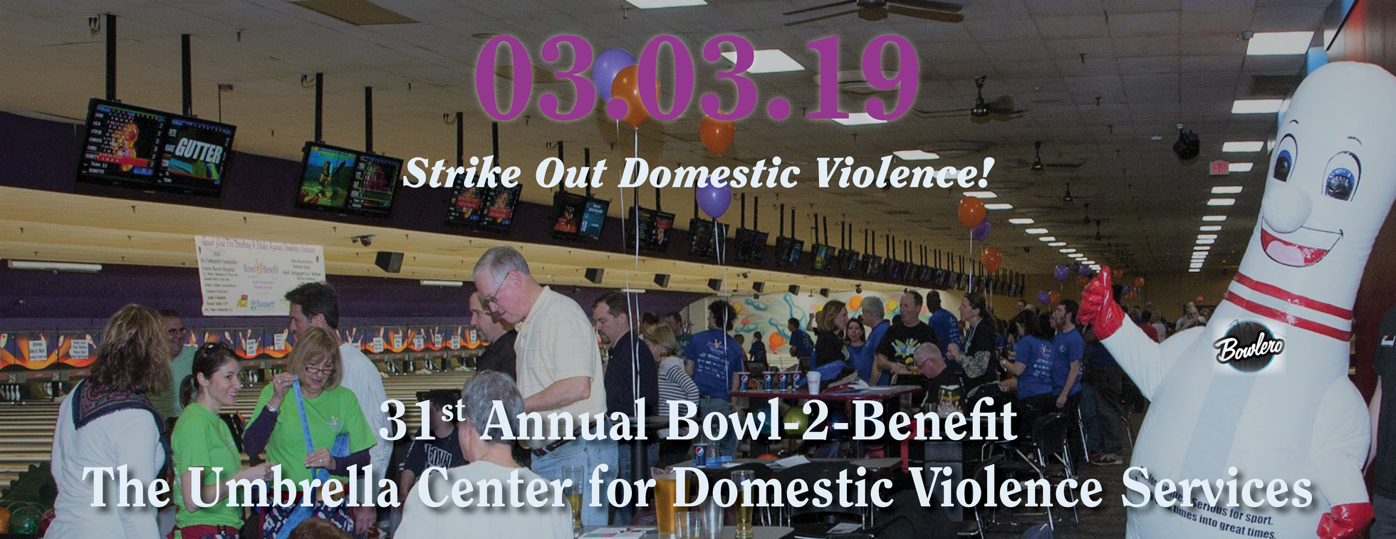 BHcare's Bowl-2-Benefit The Umbrella Center for Domestic Violence Services
